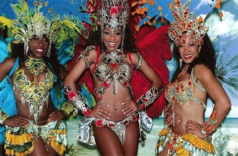 Spectacle Danseuses brésiliennes, Samba, Animart