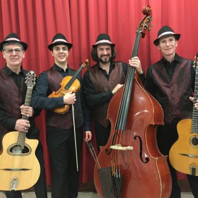 Musiciens Jazz Manouche