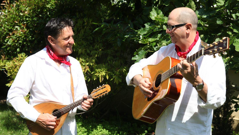 Musiciens italiens, mariage, Animart
