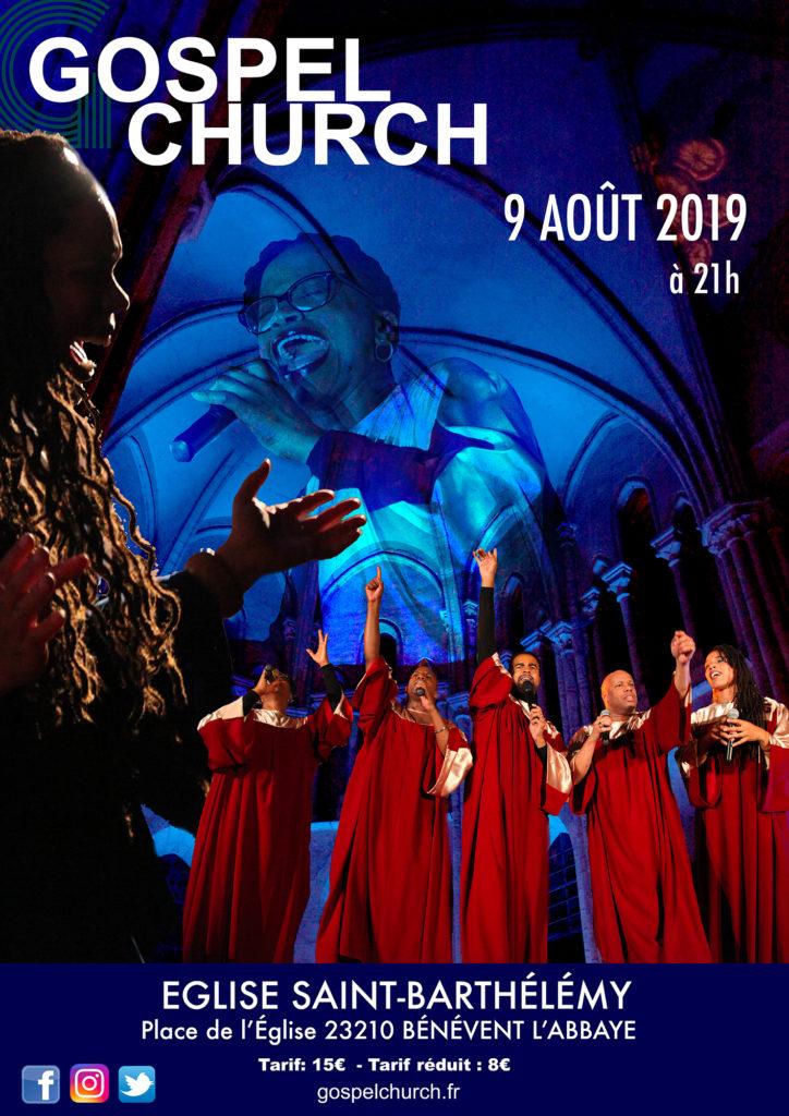 Concert Gospel Church, 2019