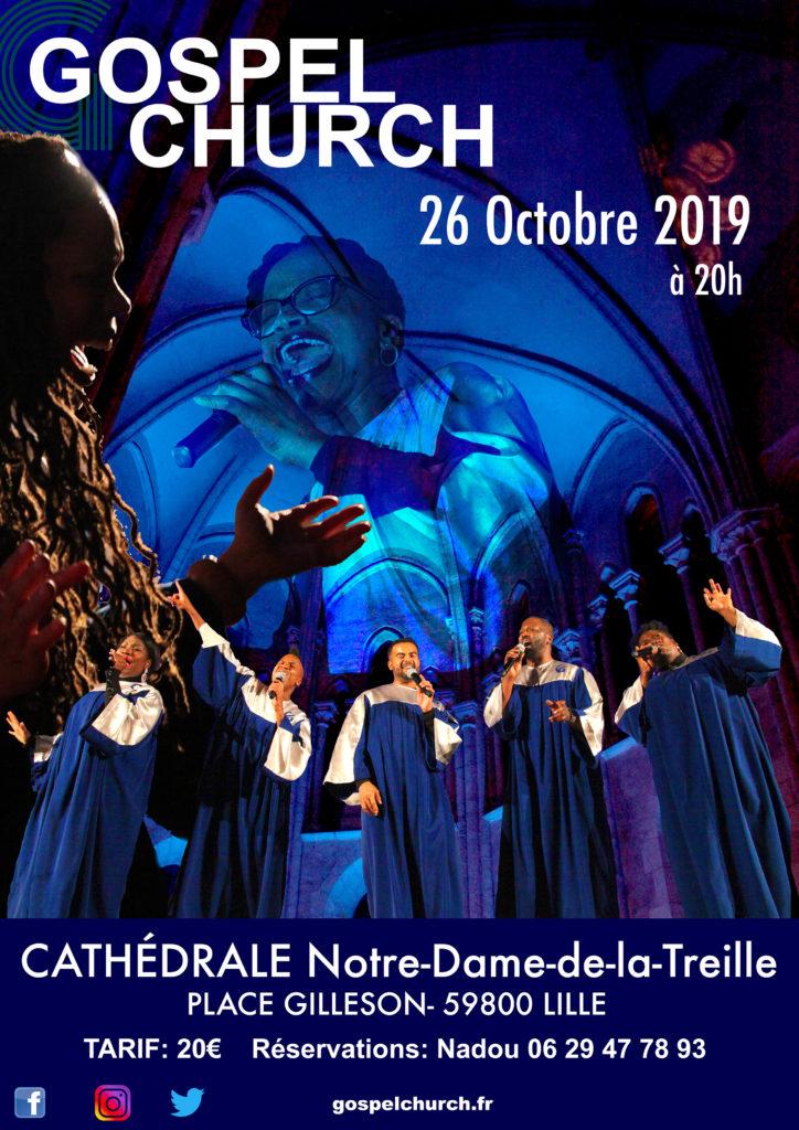 Concert Gospel Church, Lille, 2019