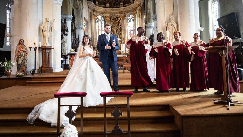 Chorale Gospel Cérémonie Mariage église, Animart