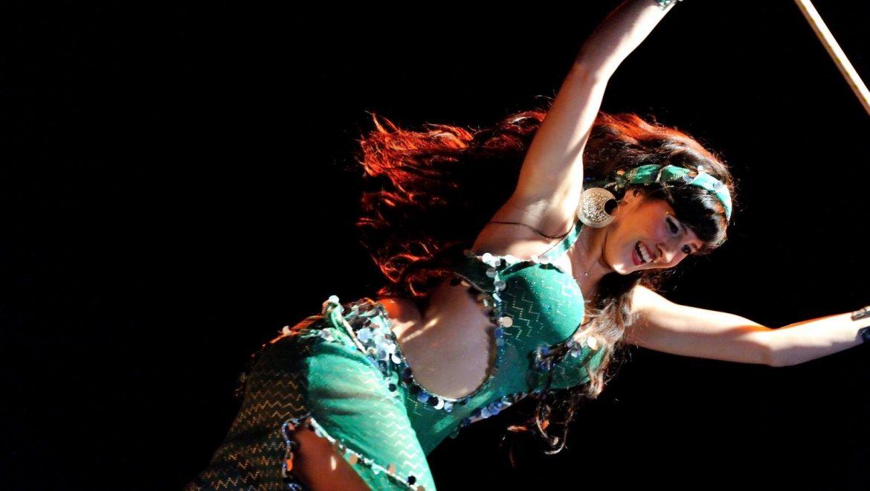 Danseuse orientale, animart