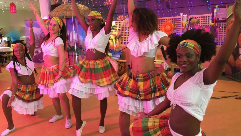 Musiciens Créoles, Danseuses Antillaises, Animart
