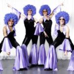 Spectacle Danseuses Chanteurs disco, Animart