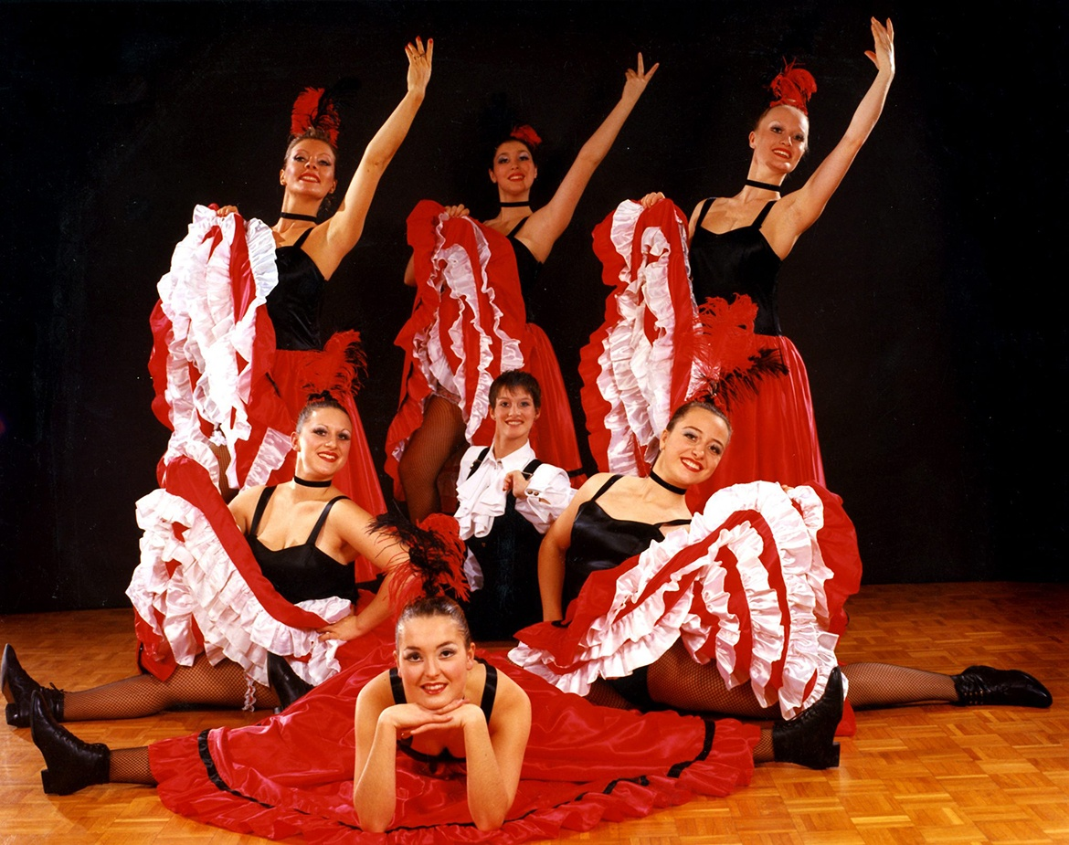 Danseuses de French Cancan