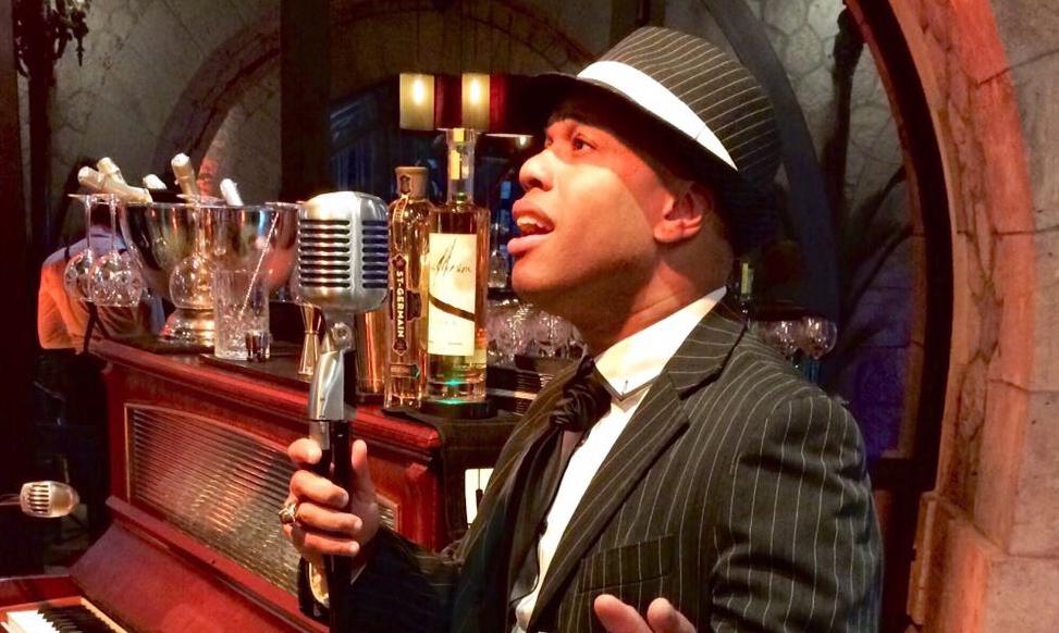 Chanteur Jazz Swing Années 40, Années 50, Animart