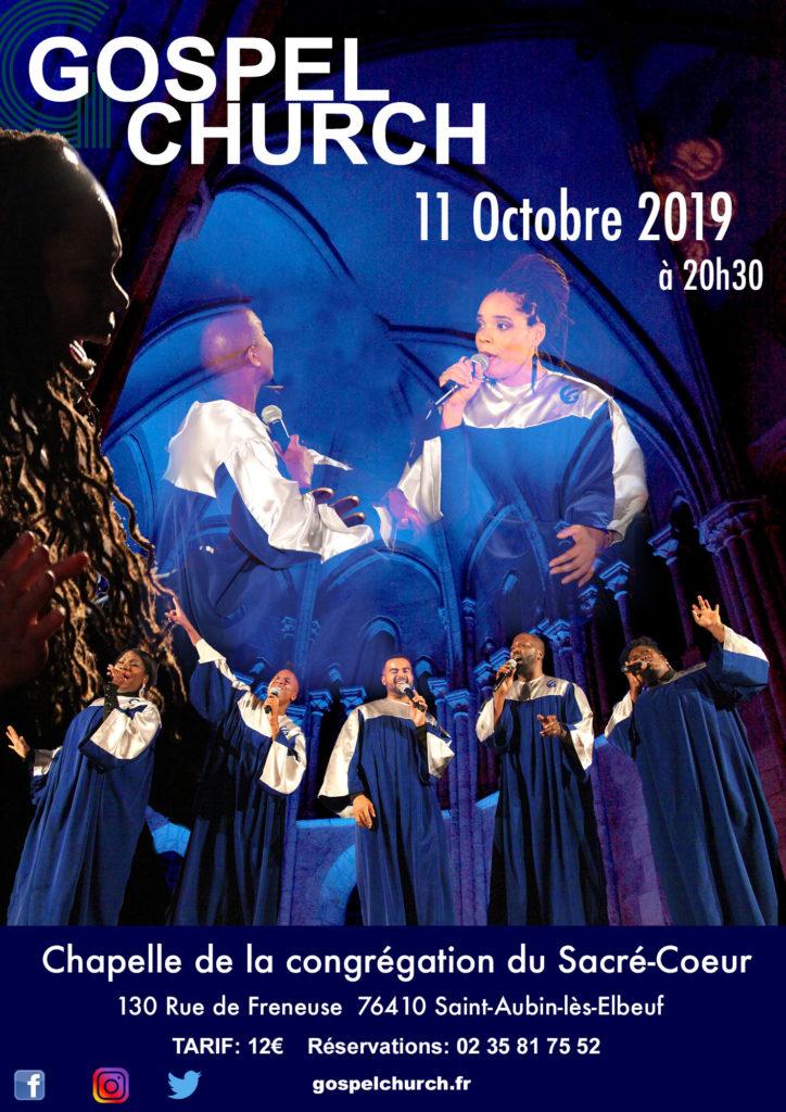 Concert Gospel Church, Saint Aubin les elbeuf 2019