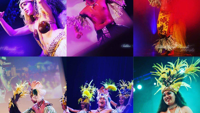 Danseuses Tahitiennes, groupe Tahitien, Animart