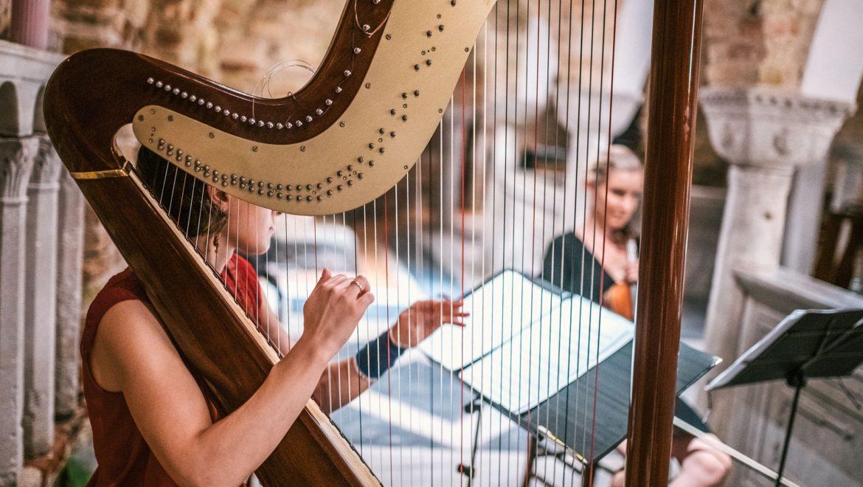 Musique Classique, Harpe Eglise, Mariage, Animart